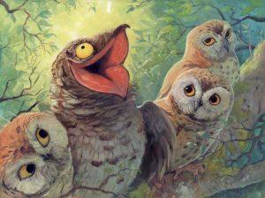 پرنده پوتو و داستانهای درختان