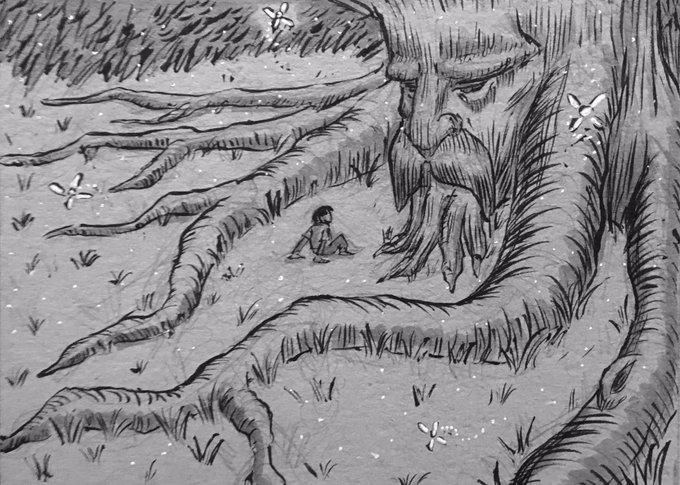 بلوط 400 ساله لیشک سیاهکل قصه میگوید!